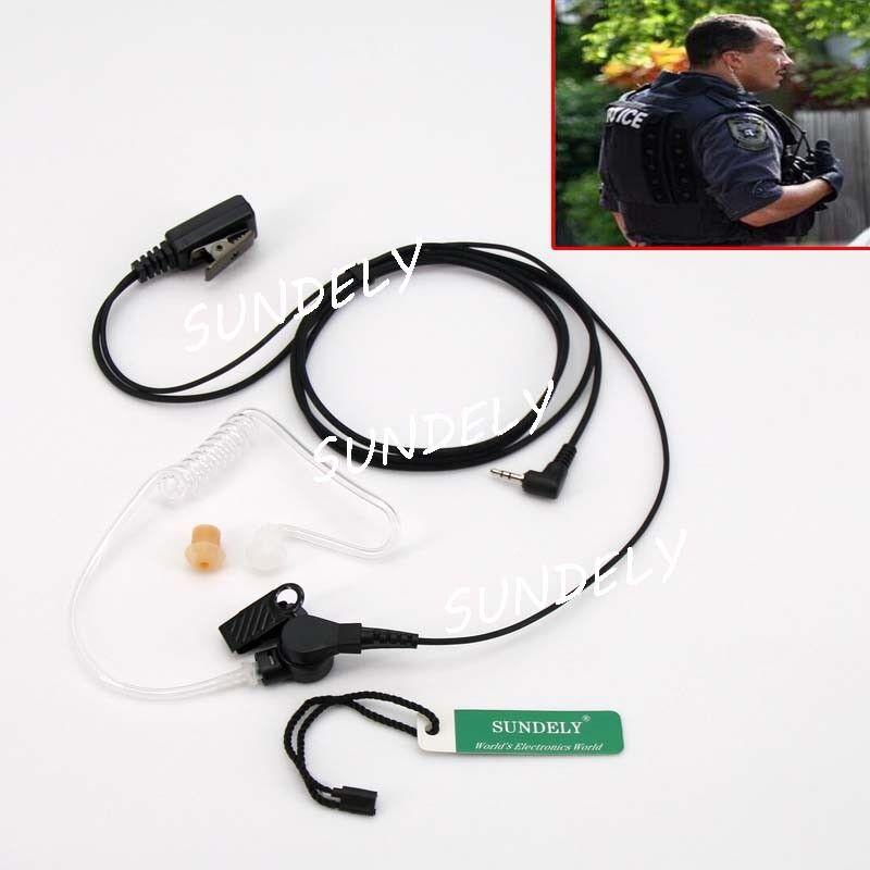 Headset//Earpiece F Uniden 2//Two Way Radio Walkie Talkie GMR3050 GMR3055 GMR4055