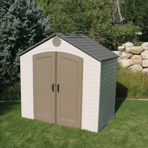 Outdoor shed used