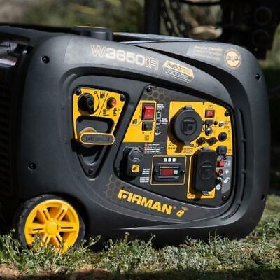 Firman W03383 Whisper Series Inverter Generator, 3300 Runnin