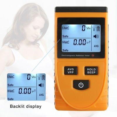 Lcd Electromagnetic Radiation Detector Tester Radiation Meter Dosimeter Counter