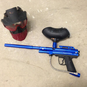 Paintball Gun & Mask