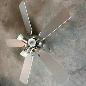 3 Light Ceiling Fan - Excellent Condition