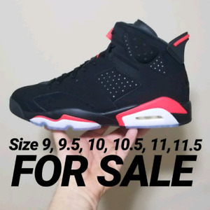 Air Jordan infrared 6's size 9, 9.5, 10, 10.5, 11 , 11.5