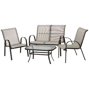 Harbor 4-Pc. Outdoor Conversation Set, New