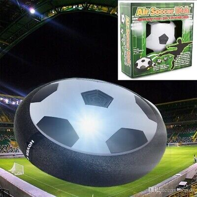 Air Power Soccer Disk,Indoor Football Air Soccer with Foam Bumpers