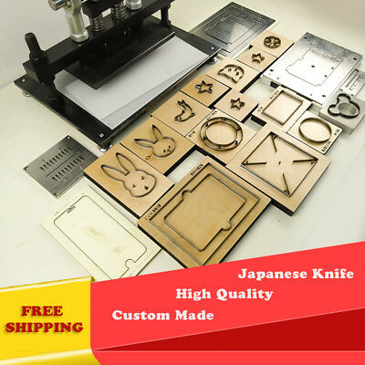 - QUALITY Custom Steel Rule Die leather punch Japanese blade leather cutting Mold