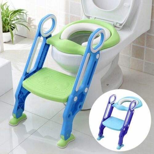 Toilettentrainer Kinder Baby WC-Sitz Toilettensitz Lerntöpfchen Faltbar Leiter