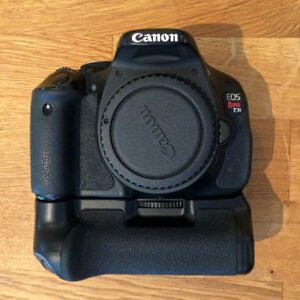 CANON EOS REBEL T3i  w/Battery Grip, Lens, and Accessories