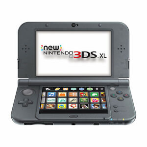 New Nintendo 3DS XL + 4 games & charger