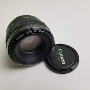 Canon 50mm 1.4 EF Lentille Lens