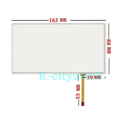 7 inch Resistive Touch screen Digitizer glass For TM070RBH01 TM070RDH02 167*92.5