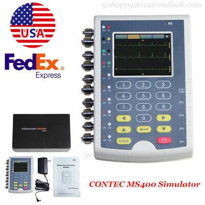 Usa Fda Touch Multiparameter Patient Simulator 12-lead Ecgresptemp2-ibp4-ibp