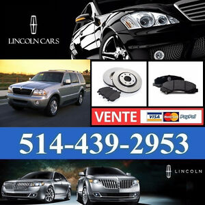 Lincoln Aviator -  Freins et Disques - Brakes and Rotors
