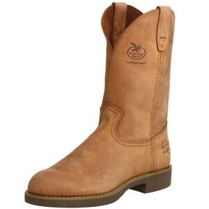 Beautiful Wellington Steel Toe Work Boots At Academy Sports Georgia Steel Toe Work Boot These Are Brand New Only Worn One Time Selling For My Father Who Wore Them To Work Once He Is A Truck Driver So He Managed To Get Some Scuffs On Them