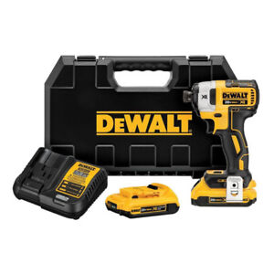 DEWALT DCF887D2 20-Volt MAX* XR 1/4-in Brushless 3-Speed Cordles