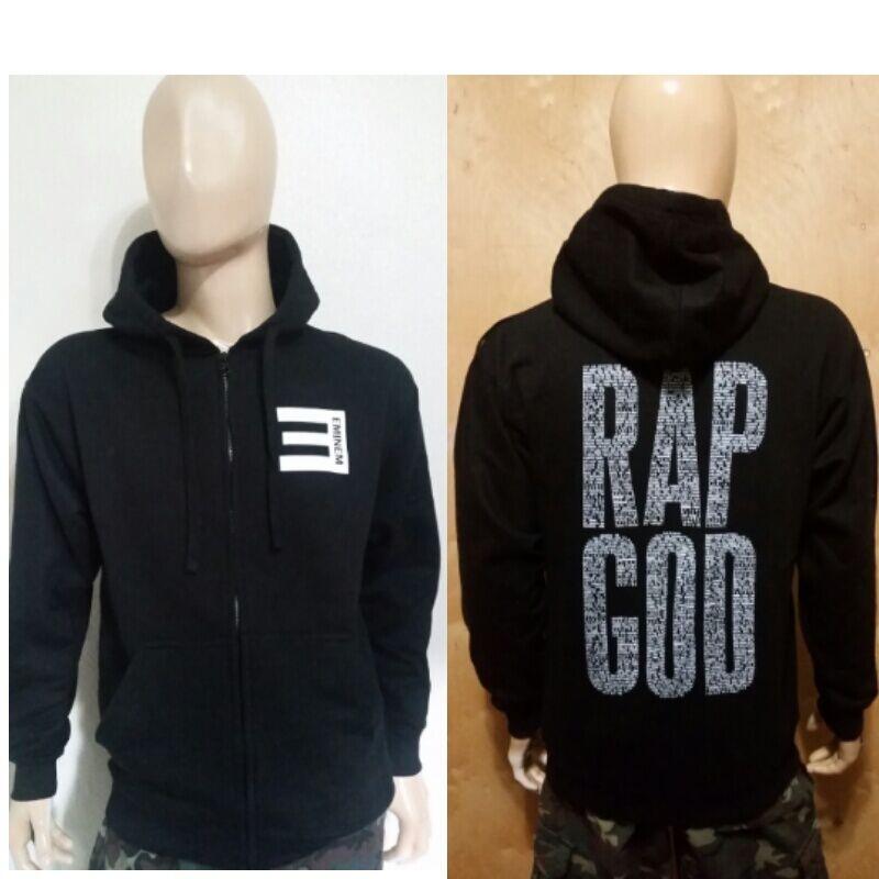 EMINEM Dear Slim Black Hoodie PULLOVER SLIM Shady  DR.DRE Rap God NWA