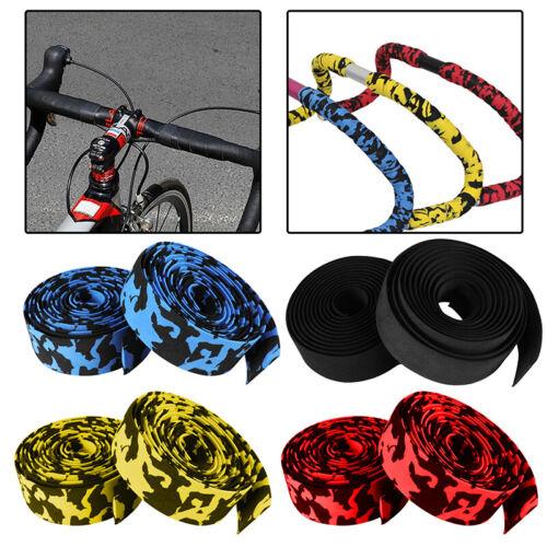 1Pair Foam Road Bike Bicycle Drop Bar Anti Slip Handlebar Tape Grip Wrap Welcome