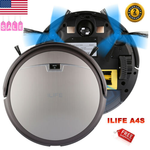 ILIFE A4S Smart Floor Vacuum Cleaner Robot Auto Sweeper Dust