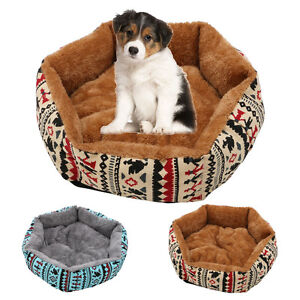 Pet Soft Cushion Puppy Dog Cat Bed House Warm Kennel Dog Mat Pad Blanket