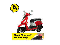 SYM FIDDLE lll 125 - CLASSIC RETRO SCOOTER - LEANER LEGAL - TWIST & GO