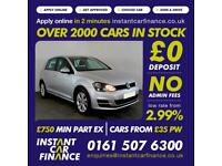 Volkswagen Golf Se Tdi Bluemotion Technology 1.6 Manual Diesel BAD / GOOD CREDIT
