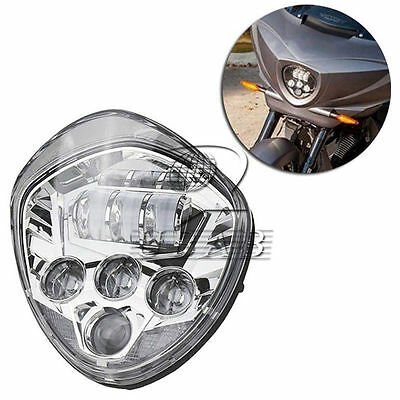 MOTORCYCLE LED HEADLIGHT 60W HILO BEAM F <em>VICTORY</em> <em>CROSS COUNTRY TOUR</em> V