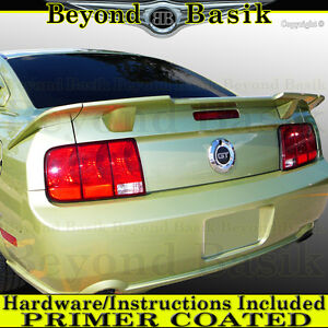 2005 2006 2007 2008 2009 Ford Mustang 3 Piece ROUSH STYLE Spoiler Wing PRIMER