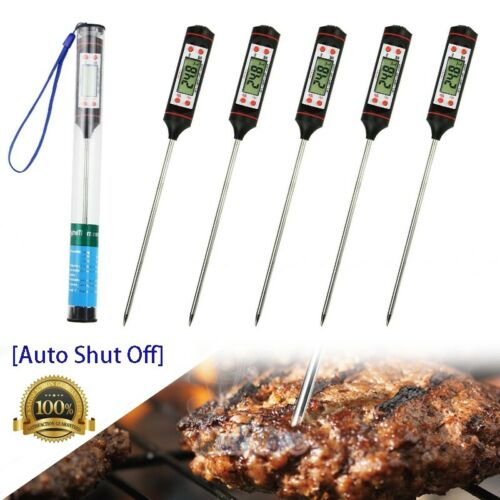 5x Electronic Meat Thermometer Instant Read Digital Food Pro