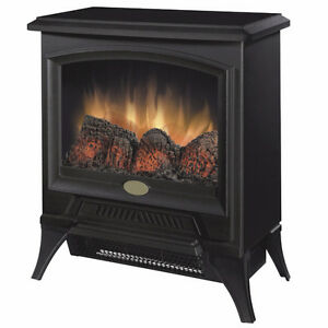 Electric cast iron look fire place