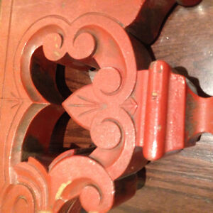 Antique Wood Carved Ceiling Decor Display Shabby Chic Project Lg Oakville / Halton Region Toronto (GTA) image 5