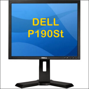 DELL 19-INCH LCD MONITOR (ROTATE/TILT) - P190ST