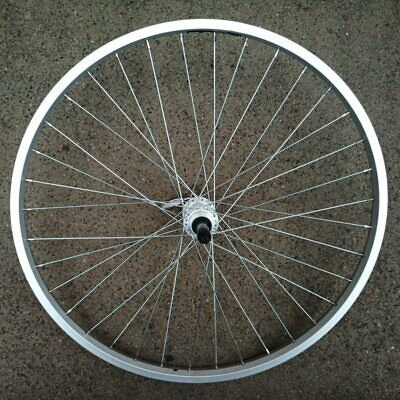 "Sta-Tru 27.5/"" x 21mm Front Wheel QR 36H Rim Brake Silver"