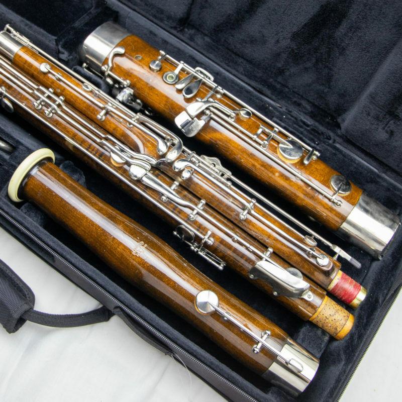 Fox Renard Model 222 Wood Bassoon, Nice condition, Overhauled, New Pads!