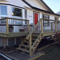 D.R. Contracting DECKS AND FENCES