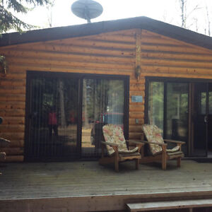 Lot and Fully Furnished Cabin for Sale at Candle Lake,Sk