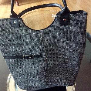 Classy Grey Handbag
