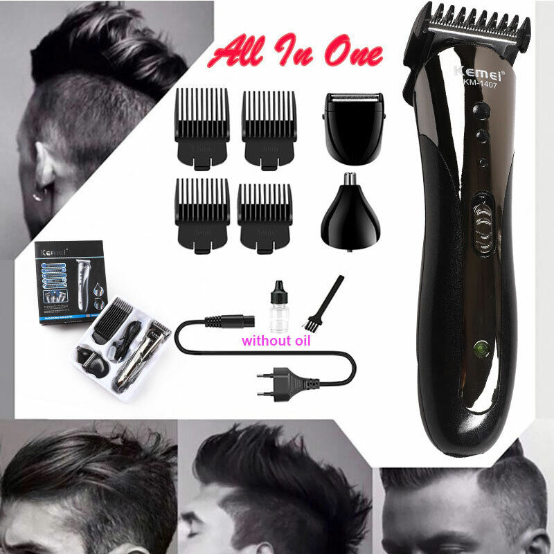 Hair Cutting Kit Machine Clippers Trimmer Pro Salon Tools Gr