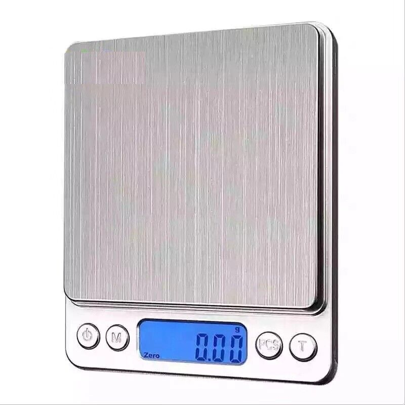 Digital Scale 2000g x 0.1g Jewelry Gold Silver Coin Gram Poc