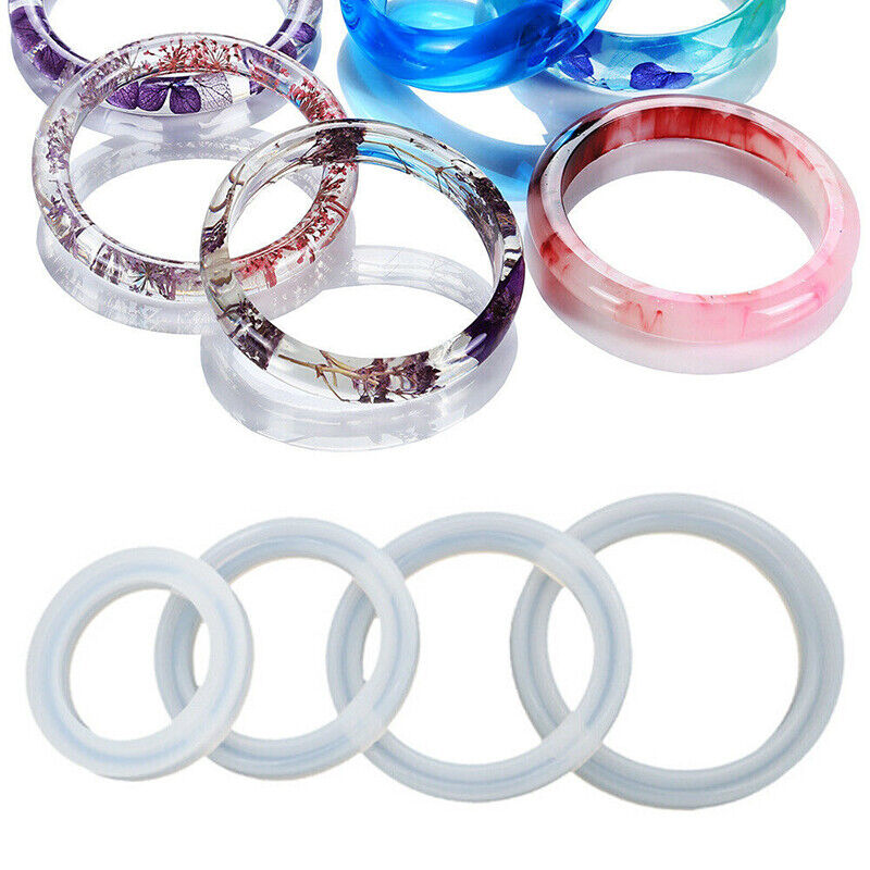 Silicone Jewelry Making Mold Bracelet Bangle Resin Casting E