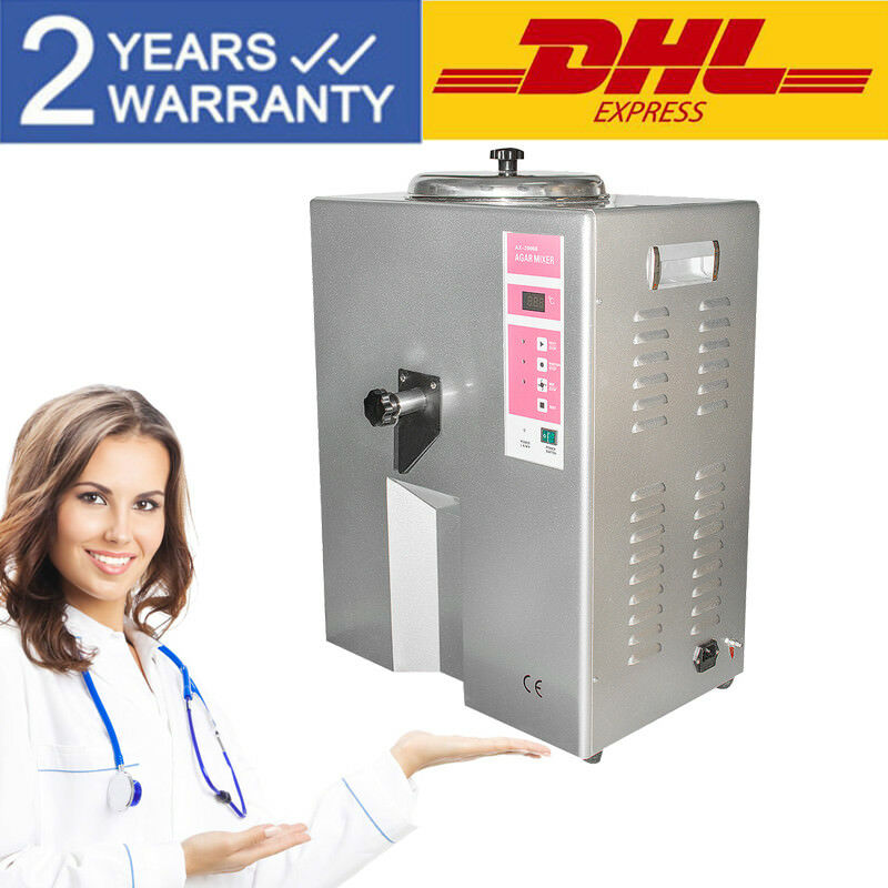 500W Dental Lab Duplicating Machine Agar Gel Mixer Melting Mixing Stirrer Manual