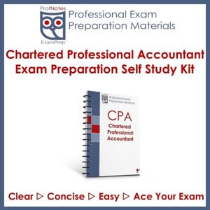 CPA CFE PEP 2019 (Chartered Professional Accountant) Exam St. Ca