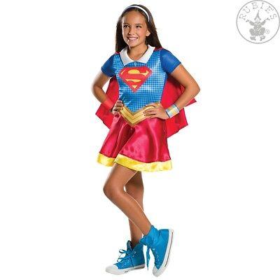RUB 3620742 Supergirl DC Super Hero Girls Lizenz Kostüm Mädchen Kinderkostüm (Super Hero Kostüm Mädchen)