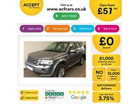 Land Rover Freelander 2 2.2eD4 FROM £57 PER WEEK.