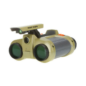 4 x 30mm Night Vision Surveillance Scope Binoculars Telescopes with Pop-up Light