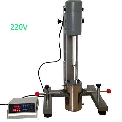 Digital Display High-speed Dispersion Machine Disperser Mixer For Lab