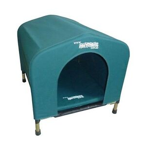 HoundHouse medium Green Kennel Dog Bed pet home house Carlisle Victoria Park Area Preview