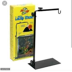 ISO reptile lamp stand
