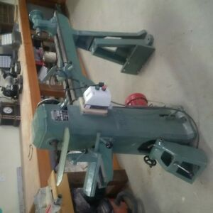Wadkin Bursgree wood lathe for sale