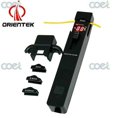 Orientek Tfi-35 Optical Fiber Identifier Live Fiber Identifier W 4 Adapters