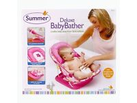 Summer Deluxe Baby Bather New in Box